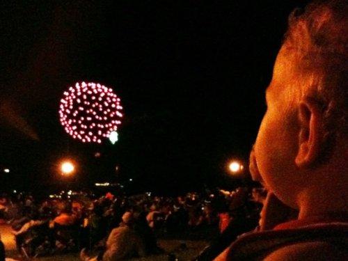 First Fireworks!