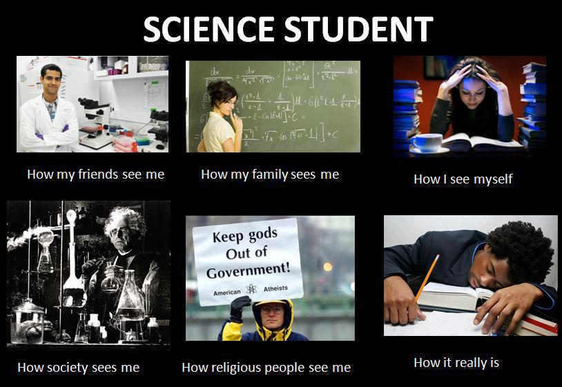 Wordless Wednesday  Science Student