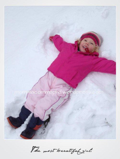 snow angel 011613
