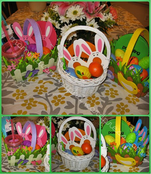 A basket for Mabel, my nephew, and Nemo.