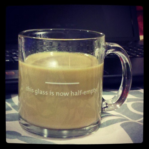 "My ""Pessimist's Mug"""