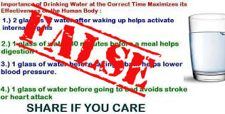 "I added the ""FALSE"" but original Source: http://www.naturalcuresnotmedicine.com/2013/02/the-best-times-to-drink-water.html"
